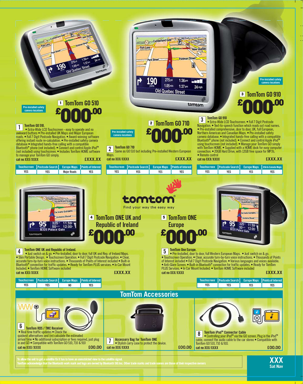 TomTom Page Argos Catalogue 67