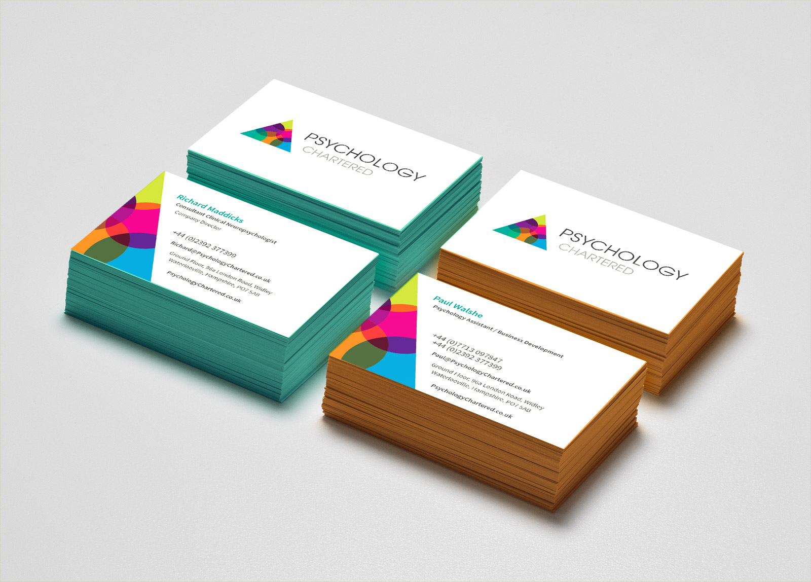 Psychology Chartered business cards