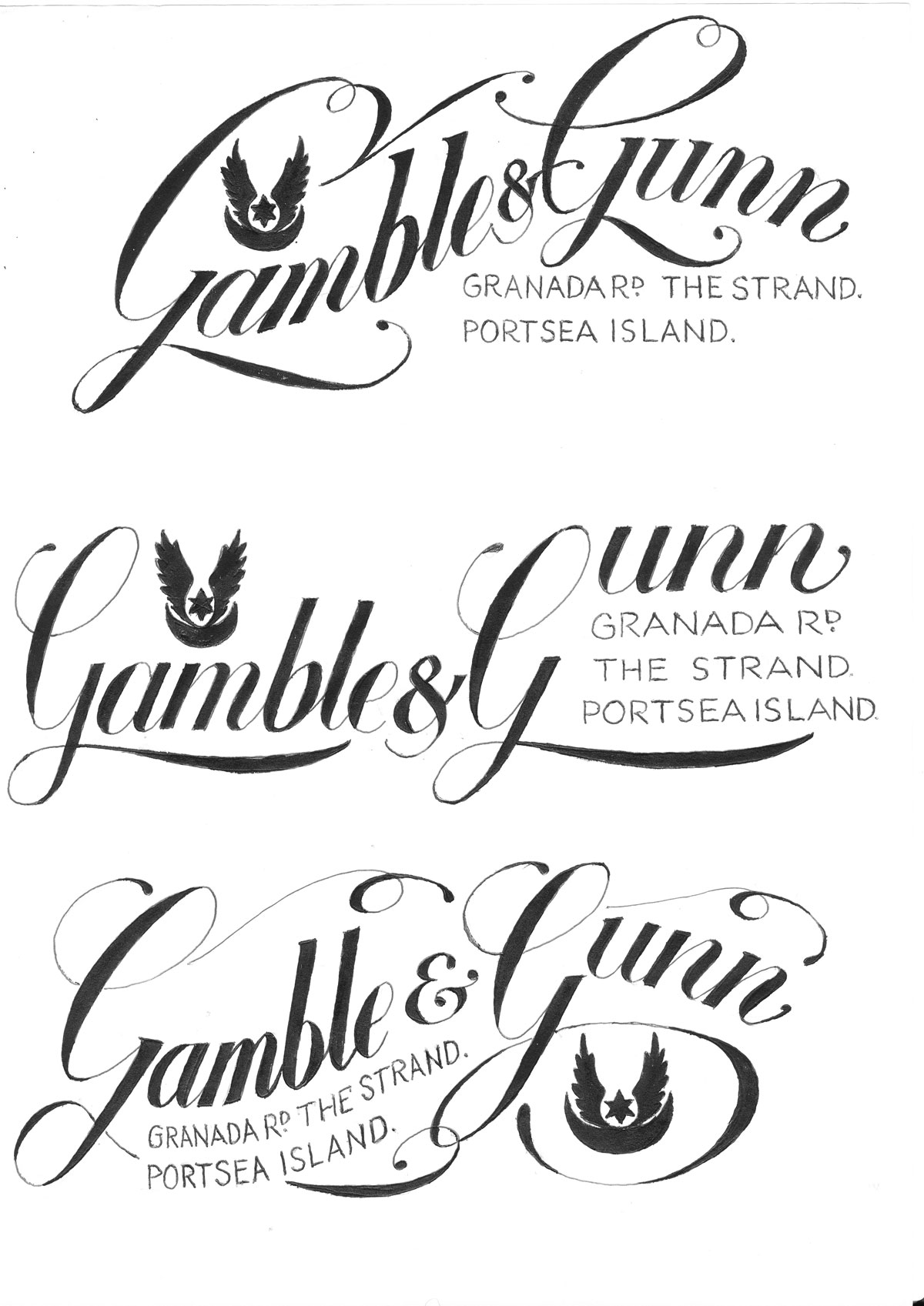 Gamble-&-Gunn-Logo_drawings