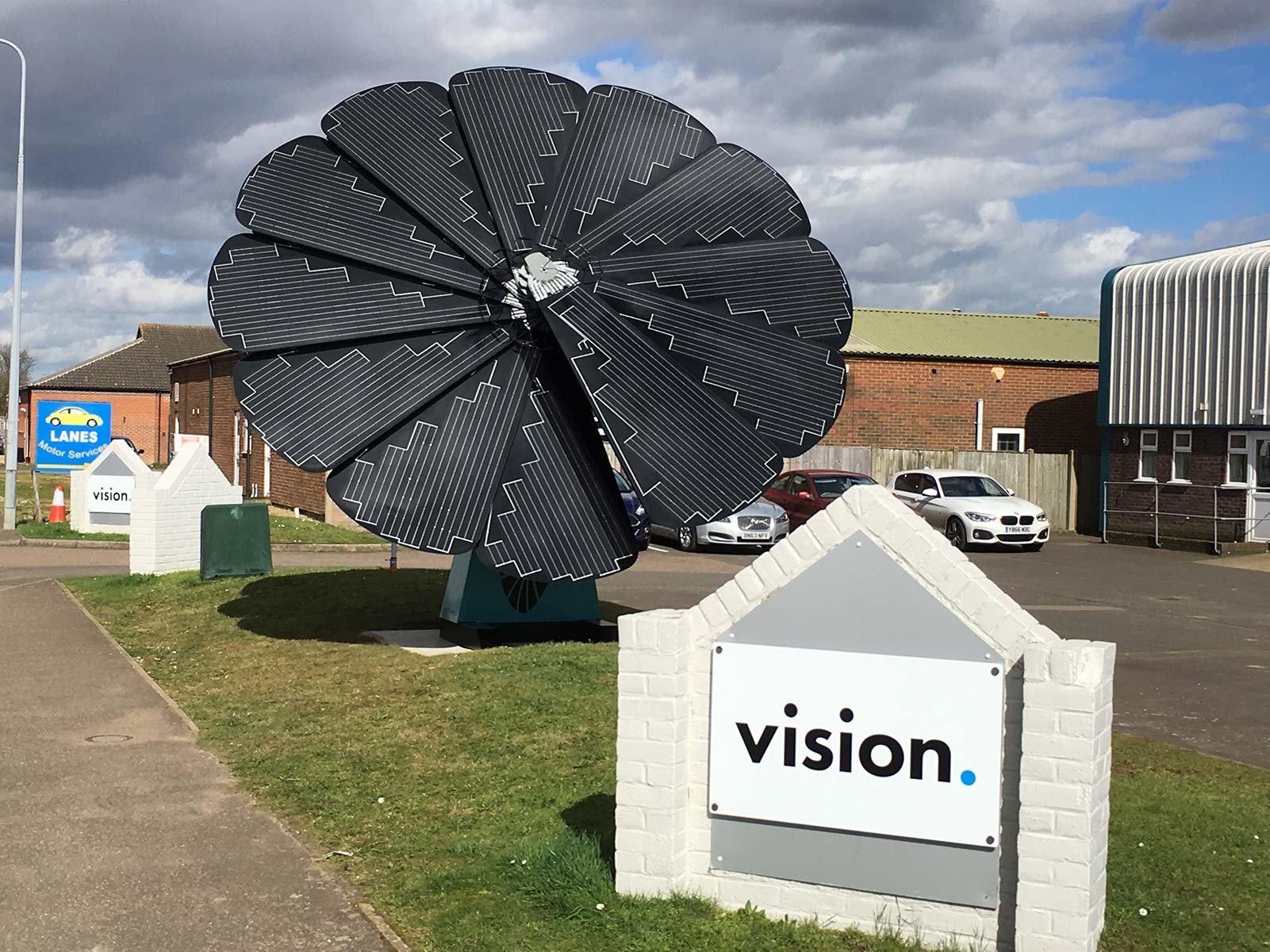 Vision signage