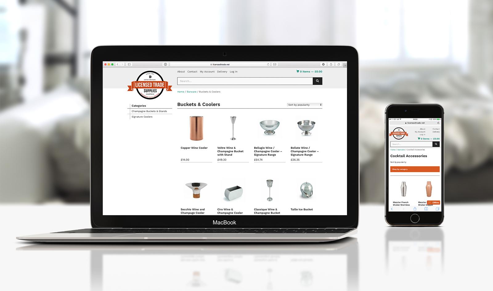 Licensed Trade website
