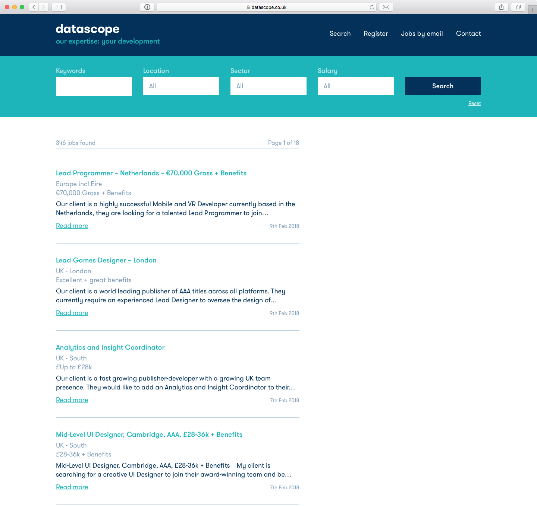datascope job search