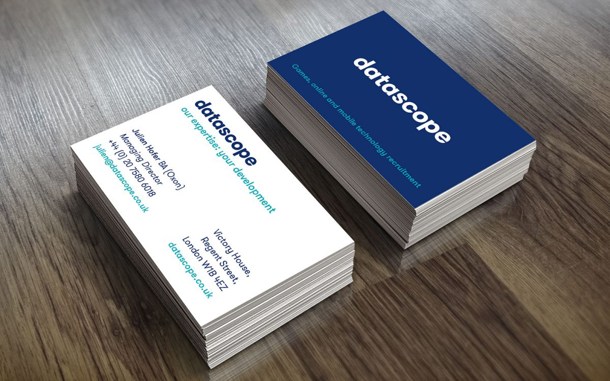 datascope business cards